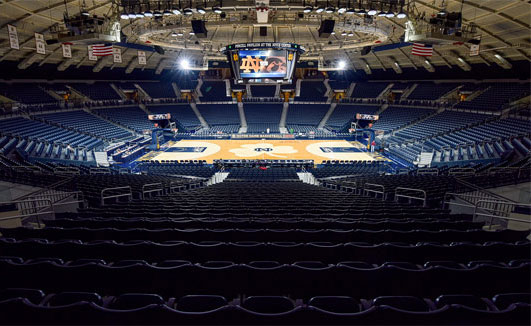 Purcell Pavilion at Notre Dame Joyce Center